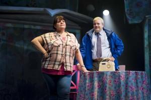Rachel Lumberg as Rachel and Martin Miller as Jeff in The Band, credit Matt Crockett (2) (1)